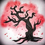 фото Эскизы тату Сакура от 27.01.2018 №152 - Sketches of Sakura tattoo - tatufoto.com