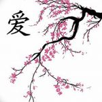 фото Эскизы тату Сакура от 27.01.2018 №157 - Sketches of Sakura tattoo - tatufoto.com