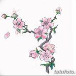 фото Эскизы тату Сакура от 27.01.2018 №164 - Sketches of Sakura tattoo - tatufoto.com