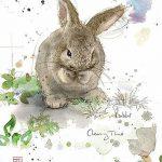 фото Эскизы тату кролик от 09.01.2018 №011 - Sketches of a rabbit tattoo - tatufoto.com
