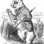 фото Эскизы тату кролик от 09.01.2018 №021 - Sketches of a rabbit tattoo - tatufoto.com