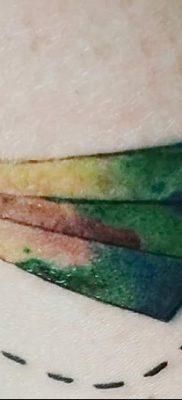 фото тату Бумажный самолетик от 23.01.2018 №064 – tattoo Paper airplane – tatufoto.com