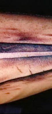 фото тату Бумажный самолетик от 23.01.2018 №096 – tattoo Paper airplane – tatufoto.com