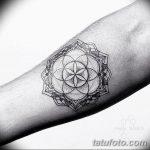 фото тату геометрия от 13.01.2018 №002 - tattoo geometry - tatufoto.com