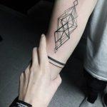 фото тату геометрия от 13.01.2018 №021 - tattoo geometry - tatufoto.com