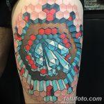 фото тату геометрия от 13.01.2018 №031 - tattoo geometry - tatufoto.com