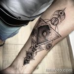 фото тату геометрия от 13.01.2018 №051 - tattoo geometry - tatufoto.com