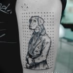 фото тату геометрия от 13.01.2018 №064 - tattoo geometry - tatufoto.com