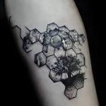 фото тату геометрия от 13.01.2018 №090 - tattoo geometry - tatufoto.com