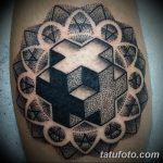 фото тату геометрия от 13.01.2018 №092 - tattoo geometry - tatufoto.com