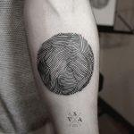 фото тату геометрия от 13.01.2018 №094 - tattoo geometry - tatufoto.com