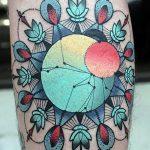 фото тату геометрия от 13.01.2018 №095 - tattoo geometry - tatufoto.com