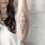фото тату геометрия от 13.01.2018 №109 - tattoo geometry - tatufoto.com
