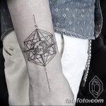 фото тату геометрия от 13.01.2018 №124 - tattoo geometry - tatufoto.com