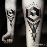 фото тату геометрия от 13.01.2018 №129 - tattoo geometry - tatufoto.com