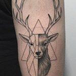 фото тату геометрия от 13.01.2018 №137 - tattoo geometry - tatufoto.com