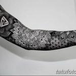 фото тату геометрия от 13.01.2018 №140 - tattoo geometry - tatufoto.com