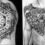 фото тату геометрия от 13.01.2018 №149 - tattoo geometry - tatufoto.com