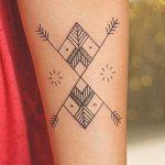 фото тату геометрия от 13.01.2018 №160 - tattoo geometry - tatufoto.com