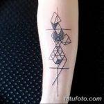 фото тату геометрия от 13.01.2018 №170 - tattoo geometry - tatufoto.com