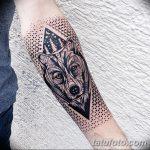 фото тату геометрия от 13.01.2018 №197 - tattoo geometry - tatufoto.com