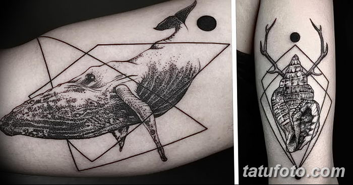 фото тату геометрия от 13.01.2018 №202 - tattoo geometry - tatufoto.com