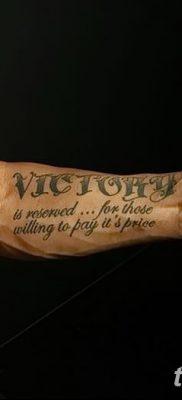 фото тату победа от 22.01.2018 №028 – tattoo victory – tatufoto.com