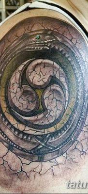 фото тату трискели от 09.01.2018 №006 – triskelion tattoo – tatufoto.com