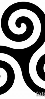 фото тату трискели от 09.01.2018 №014 – triskelion tattoo – tatufoto.com