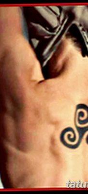 фото тату трискели от 09.01.2018 №021 – triskelion tattoo – tatufoto.com