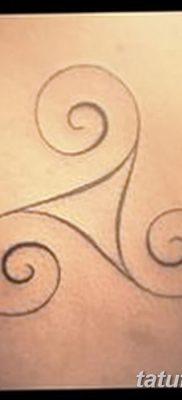 фото тату трискели от 09.01.2018 №038 – triskelion tattoo – tatufoto.com