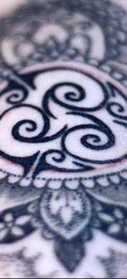 фото тату трискели от 09.01.2018 №052 – triskelion tattoo – tatufoto.com