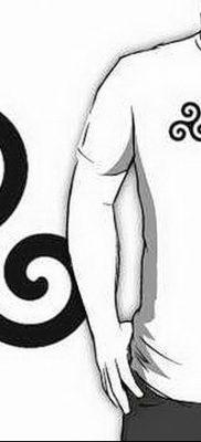фото тату трискели от 09.01.2018 №056 – triskelion tattoo – tatufoto.com