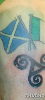 фото тату трискели от 09.01.2018 №057 – triskelion tattoo – tatufoto.com