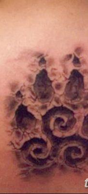 фото тату трискели от 09.01.2018 №067 – triskelion tattoo – tatufoto.com