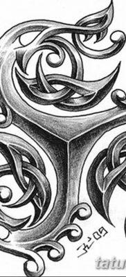 фото тату трискели от 09.01.2018 №075 – triskelion tattoo – tatufoto.com