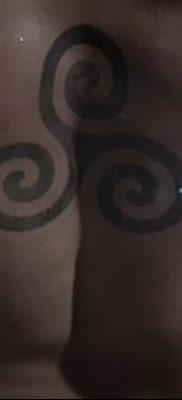 фото тату трискели от 09.01.2018 №082 – triskelion tattoo – tatufoto.com