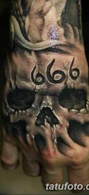 фото тату 666 от 16.01.2018 №005 – tattoo 666 – tatufoto.com