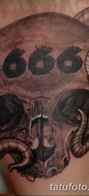 фото тату 666 от 16.01.2018 №014 – tattoo 666 – tatufoto.com