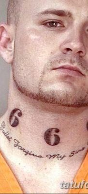 фото тату 666 от 16.01.2018 №015 – tattoo 666 – tatufoto.com