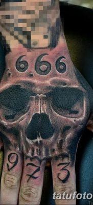 фото тату 666 от 16.01.2018 №034 – tattoo 666 – tatufoto.com