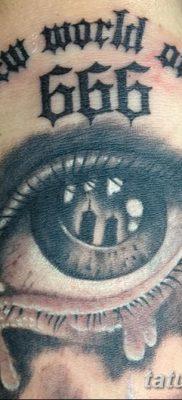 фото тату 666 от 16.01.2018 №036 – tattoo 666 – tatufoto.com