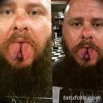 фото Змеиный язык у человека от 02.02.2018 №015 - Snake tongue in man - tatufoto.com