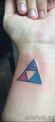 фото Значение тату три треугольника от 13.02.2018 №013 – three triangle tatto – tatufoto.com