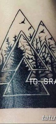 фото Значение тату три треугольника от 13.02.2018 №015 – three triangle tatto – tatufoto.com