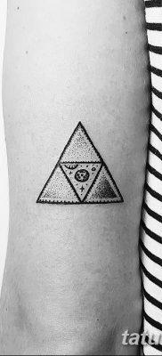 фото Значение тату три треугольника от 13.02.2018 №019 – three triangle tatto – tatufoto.com