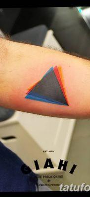 фото Значение тату три треугольника от 13.02.2018 №020 – three triangle tatto – tatufoto.com