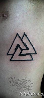 фото Значение тату три треугольника от 13.02.2018 №021 – three triangle tatto – tatufoto.com