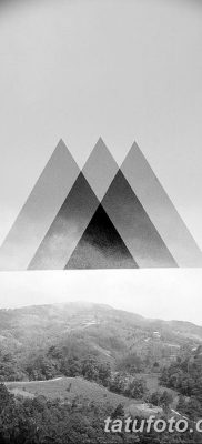фото Значение тату три треугольника от 13.02.2018 №025 – three triangle tatto – tatufoto.com