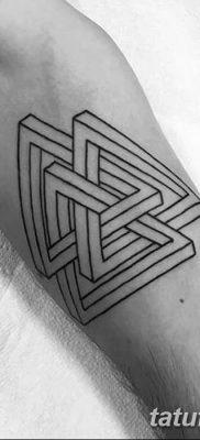 фото Значение тату три треугольника от 13.02.2018 №026 – three triangle tatto – tatufoto.com